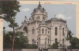 SINAGOGA-SYNAGOGUE-TEMPIO-TEMPEL-JUDAICA-JUDISCHER-SZOLNOK-UNGHERIA-CARTOLINA NON VIAGGIATA - Ungheria