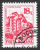 Romania - Scott #3672 CTO - Full Gum - Never Hinged (2) - 1948-.... Republics