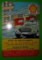 Calendrier De Poche Shell 1980 - Small : 1971-80