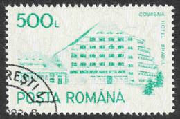 Romania - Scott #3683 CTO - Full Gum - Never Hinged (2) - 1948-.... Republics