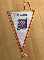ICE HOCKEY CROATIA CLUB HK ZAGREB   PENNANT - Jockey - Menores
