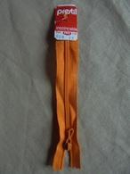 Fermeture éclair Prestil Orange 12 Cm - Loisirs Créatifs