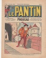 PHOSCAO - LE PANTIN - Edition De Propagande Du PHOSCAO - N°59 Novembre 1932 - Advertising