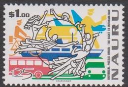 Nauru SG 502 1999 UPU, Mint Never Hinged - Nauru
