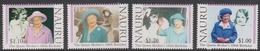 Nauru SG 514ad 2000 Queen Mother 100th Birthday, Mint Never Hinged - Nauru