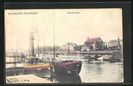 AK Duisburg-Ruhrort, Kaiserhafen - Duisburg