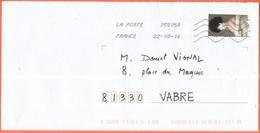 FRANCIA - France - 2016 - Lettre Verte Edouard Manet, La Femme Au Chapeau Noir: Portrait D'Irma Brunner La Viennoise - V - Francia