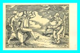 A743 / 217  Illustrateur Prof. Alfred PELLON Der Dudelsackblaser - Illustratori & Fotografie