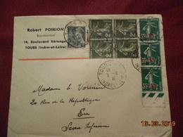 Lettre De 1941 A Destination De Eu - France