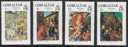 Gibraltar SG412-415 1978 Christmas Set 4v Complete Mounted Mint [39/32000/2D] - Gibraltar