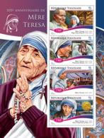 Togo 2015  Mother Teresa, Pope John Paul II , Nobel Peace Prize - Togo (1960-...)