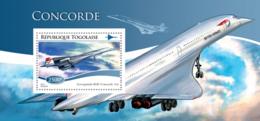 Togo 2015  Concorde, Airplane - Togo (1960-...)