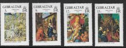 Gibraltar SG412-415 1978 Christmas Set 4v Complete Unmounted Mint [39/32001/2D] - Gibraltar
