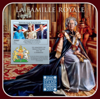 Togo 2015 Royal Family,Catherine , Prince William,Elizabeth II, Queen - Togo (1960-...)