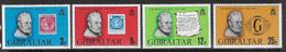 Gibraltar SG416-419 1979 Sir Rowland Hill Set 4v Complete Unmounted Mint [39/32002/2D] - Gibraltar