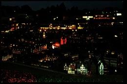 Den Haag  -  Madurodam  -  Miniatuurstad  -  Panorama Am Abend  -  Ansichtskarte Ca.1980    (10067) - Den Haag ('s-Gravenhage)