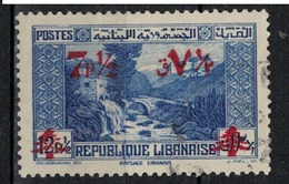 GRAND LIBAN      N°  YVERT   185      OBLITERE       ( O   3/ 35 ) - Grand Liban (1924-1945)