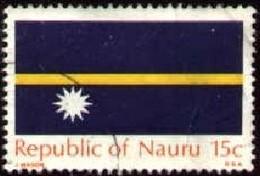 Flags Of Nauru, Nauru Stamp SC#88 Used - Nauru