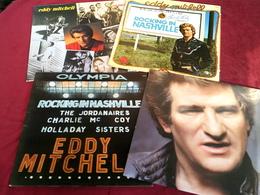 EDDY MITCHELL   °° COLLECTION DE 12 / 33  TOURS  DONT 2 ALBUM  DOUBLE - Colecciones Completas