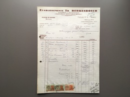 GENT - GAND - Berkenbosch - Liquers - Spiritueux - Disstillateur - Stokerij - Belgique