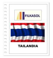 Suplemento Filkasol Tailandia 2016 - Ilustrado Para Album 15 Anillas - Pre-Impresas