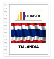 Suplemento Filkasol Tailandia 2018 - Ilustrado Para Album 15 Anillas - Pre-Impresas
