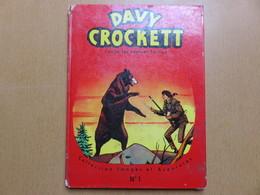 RARE Belle BD DAVY CROCKETT Contre Les HOMMES LOUTRES EO VAILLANT 1963 Dessins KLINE Relié – 1963 - Editions Originales (langue Française)