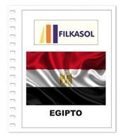 Suplemento Filkasol Egipto 2017 - Ilustrado Para Album 15 Anillas - Pre-Impresas