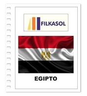 Suplemento Filkasol Egipto 2018 - Ilustrado Para Album 15 Anillas - Álbumes & Encuadernaciones