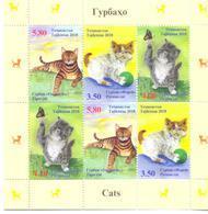 2018. Tajikistan, Cats Of Tajikistan, Sheetlet, Mint/** - Tadzjikistan