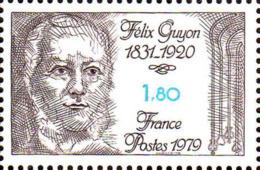 France Poste N** Yv:2052 Mi 2159 Yv:1 Euro Félix Guyon Urologue - France