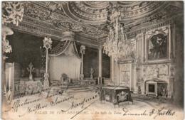 4OST 618 CPA - PALAIS DE FONTAINEBLEAU - LA SALLE DU TRONE - Fontainebleau