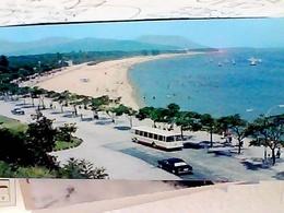 KOREA - PYONGYANG -WEUNSAN. SONGDOWEUN SITE PITTORESQUE AUTO CAR  AUTOBUS  N1975 HB8490 - Corea Del Nord