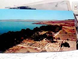 JUDAICA . ISRAEL. CAPHARNAUM. Ruines D'un Ancienne Synagogue Et Lac De Tibériade  N1975 HB8494 - Israele