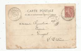 Sur Carte Postale , CRECHY ,ALLIER ,1904 , ENNEZAT ,Puy De Dome, 4 Scans, étrennes Utiles , Bébés - 1877-1920: Période Semi Moderne