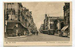 CPA 51 : REIMS  Rue De Condorcet Gare Des Autocars  A  VOIR   !!!! - Reims