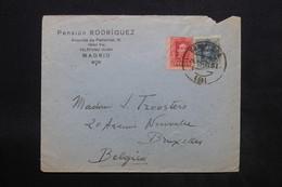 ESPAGNE - Enveloppe Commerciale De Madrid Pour La Belgique En 1921 - L 24886 - 1889-1931 Royaume: Alphonse XIII