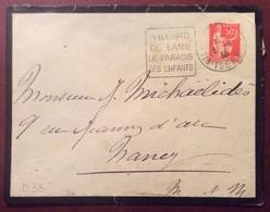 D33 Isère Villard De Lans Daguin «Villard De Lans Le Paradis Des Enfants »Paix 50c 3/9/1933 - France