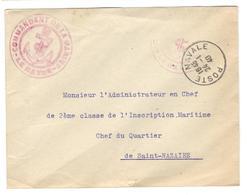 15117 - COMMANDANT MARINE LE HAVRE - Storia Postale