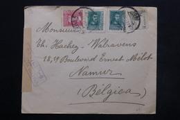 ESPAGNE - Enveloppe Commerciale De Séville Pour La Belgique En 1939 Avec Cachet De Censure, Contrôle Postal - L 24893 - 1931-50 Briefe U. Dokumente