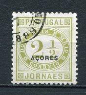 Azoren Nr.54        O  Used            (002) - Azores
