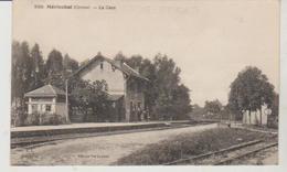 Creuse MERINCHAL La Gare (vue Intérieure) - Other Municipalities