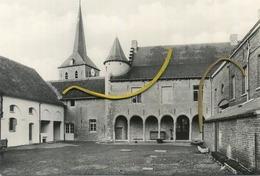 Galmaarden: Binnenkoer Van Het Baljuwhuis  ( Formaat 15 X 10.5 Cm-  Kaart Was Ingeplakt - NIET Beschadigd ) - Galmaarden
