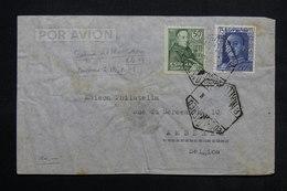 ESPAGNE - Enveloppe De Mallorca Pour La Belgique - à Voir - L 24899 - 1931-50 Briefe U. Dokumente
