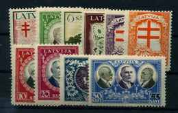 LETTLAND 1930 Nr 161-170 Postfrisch (112165) - Lettland