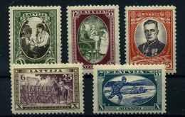LETTLAND 1932 Nr 198-202 Postfrisch (112177) - Latvia