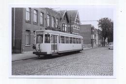 KAPELLEN : Terminus-passage A Niveau  :  Vicinale ( TRAM )  ( Foto Van Oude Cliché 1964 - 15 X 10 Cm ) - Kapellen