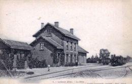 60 - Oise -  LASSIGNY - La Gare - Lassigny