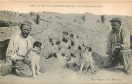 RARE LA CHASSE AUX RATS  LA GRANDE GUERRE 1914-16  PHOTOTYPIE BAUDINIERE - Guerre 1914-18