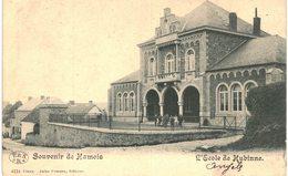 HAMOIS  Souvenir L' école De Hubinne. - Ciney